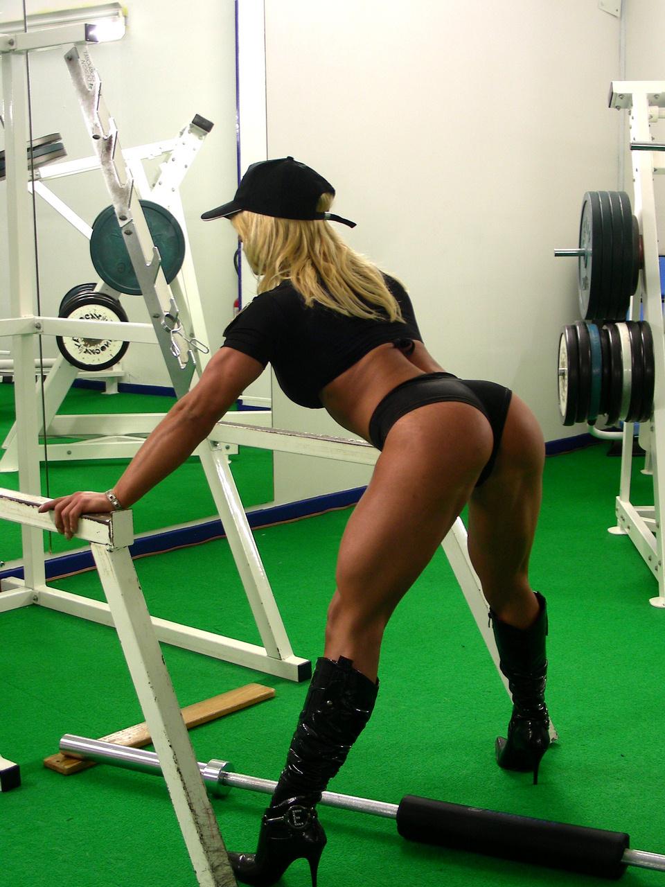 Фото девушки бодибилдинг фитнес 9 фотография