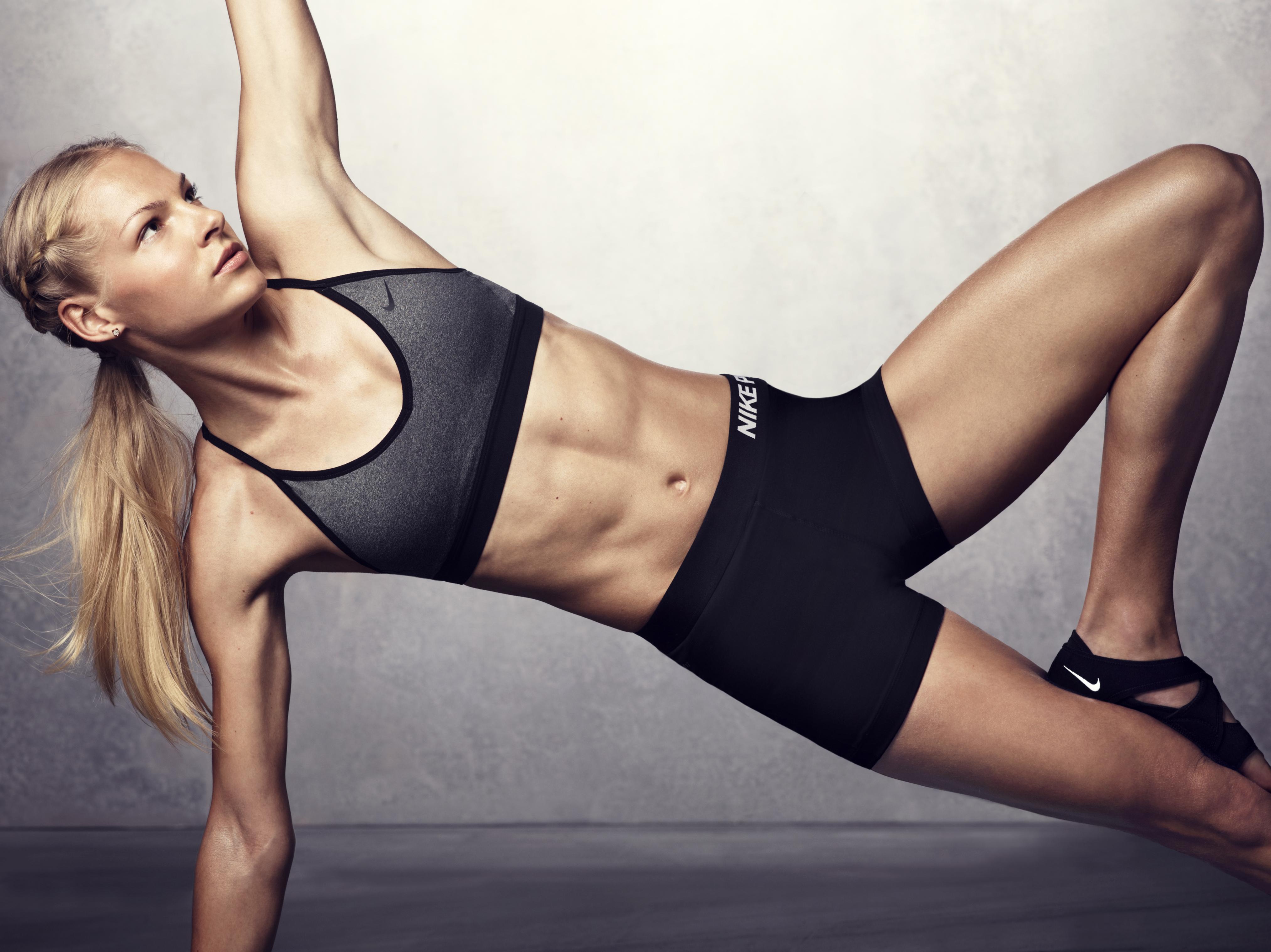 """Darya Klishina (Ð""""Ð°Ñ€ÑŒÑ ÐšÐ»Ð¸ÑˆÐ¸Ð½Ð°) - Great Muscle ..."""